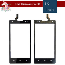 5.0 For Huawei Ascend G700 LCD Touch Screen Digitizer Sensor Outer Glass Lens Panel Replacement $ a 7 inch plast protective film touch for haier hit g700 3g tablet replacement touch screen digitizer glass touch panel