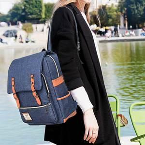 Image 5 - Laamei école sac à dos étudiant sac à dos pour ordinateur portable Style Preppy cahier sac à dos voyage sacs à dos unisexe sac à dos mochila cadeau