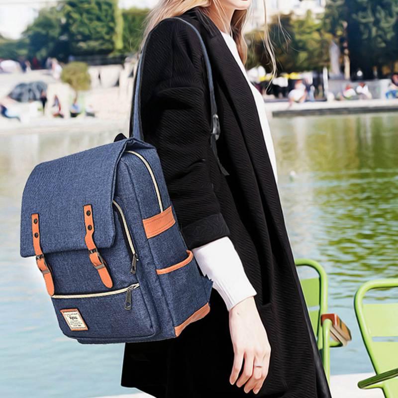 Nibesser School Backpack Student Backpack For Laptop Preppy Style Notebook Backbag Travel Daypacks Unisex Rucksack Mochila Gift #5