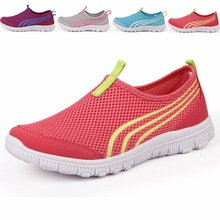 LEOCI New Athletic Women Sneakers Summer Breathable Mesh Sport Shoes For Female Outdoor Light Running
