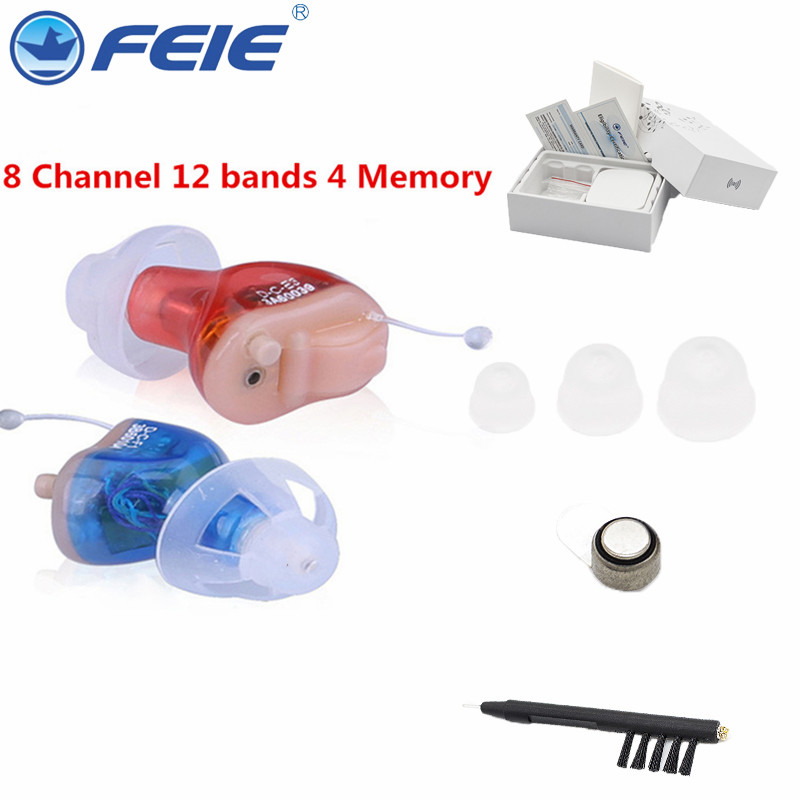 FEIE Digital Tone Tinnitus Masker Cheap Hearing Aid sordo S-17A As Seen On Tv 2018 Invisible Mini Amplifier Kit Free Shipping feie cheap drop shipping analog invisible hearing aid mini sound moderator headsets for deaf s 900 free shipping