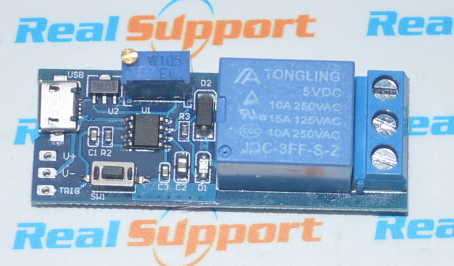 wide voltage 5v-30v trigger delay relay delay conduction delay timer switch