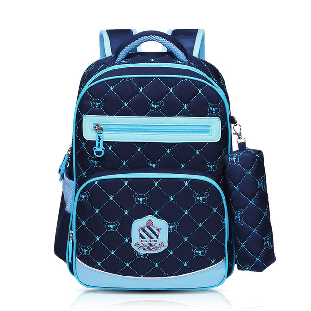 0a4b5fccfb Orthopedic Children Backpack Schoolbags Shoulder Bags Mochila Knapsack For  Teenagers Kids Boys Girls School Bags With Pencil Bag-in School Bags from  ...