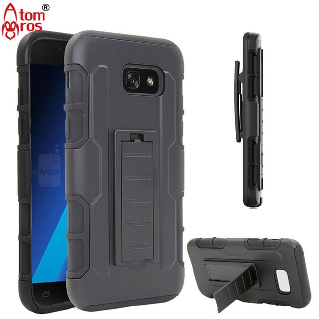 the best attitude 35727 b81a6 US $4.74 |Rugged Belt Clip Cover Hard Armor Case For Samsung Galaxy J7 2017  / J7 Sky Pro / J7 Perx / J7 V Cases Phone Shell Skin Fundas-in Fitted ...