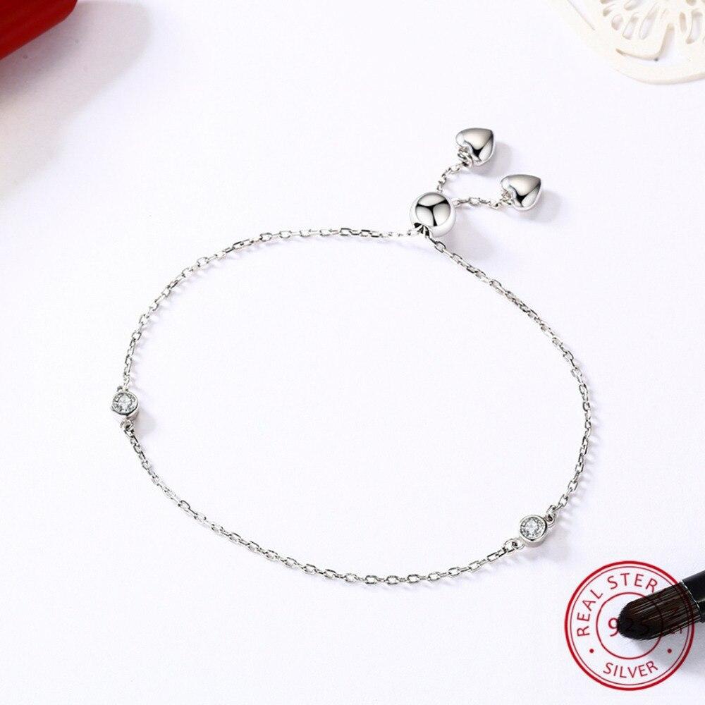 Promotion Sale Women Personalized Bracelet,Fashion Crystal Bracelets,Wholesale 925 Sterling Silver Trendy Bracelet Pour Femme цены