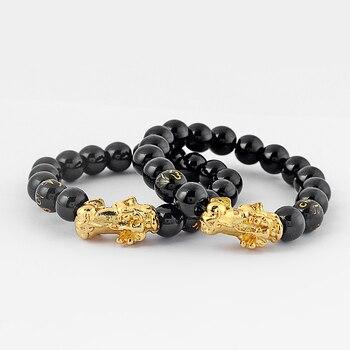 Bracelet Bouddhiste Poudre D'or