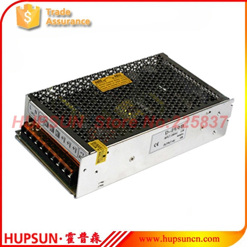 fonte D-250 250w power source 220v AC to DC 5v 12v 24v dual output switching power supply SMPS LED driver, customized welcome