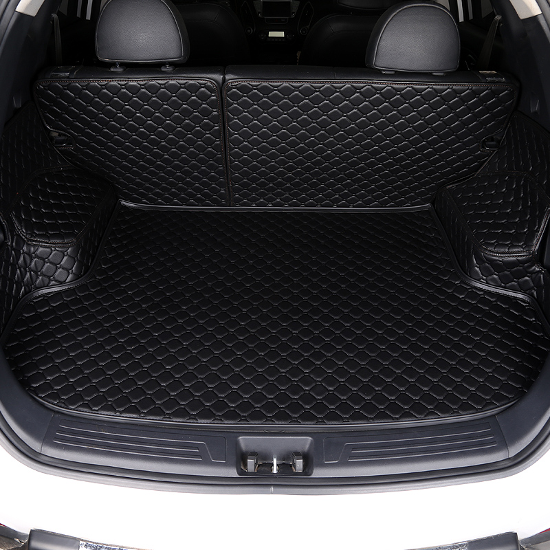 Custom Car Trunk Mat For Land Rover All Model Rover Range Evoque Sport Freelander Discovery All Surrounded By Car Trunk Pad