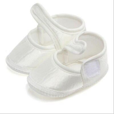 Shoes Baby Prewalker Newborn Infant Cotton Cute White Soft 0-6M