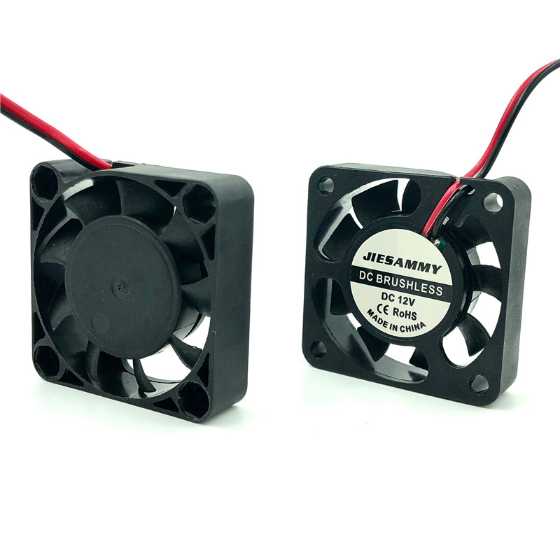 Fan 40mm Silent 12V 24V 5V <font><b>USB</b></font> Sleeve/2BALL bearing 40mm x 10mm 4CM <font><b>DC</b></font> Brushless fan for 3D Printer Cooler Heatsink Mini FAN image