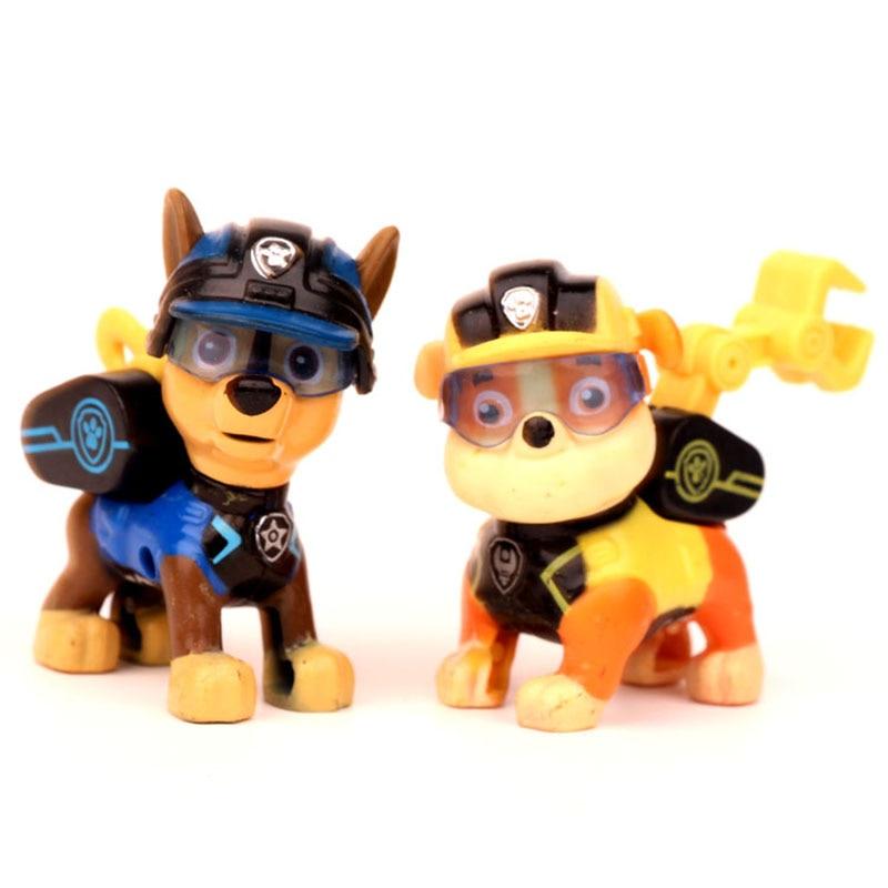 12 шт., Щенячий патруль, Patrulla Canina, ПВХ, фигурка, аниме, Щенячий патруль, игрушка, Щенячий патруль, собачий патруль, детские игрушки для детей 2D08