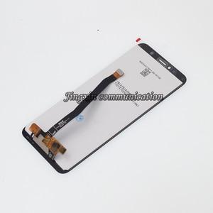 Image 3 - Yeni ekran için Huawei Y6 başbakan 2018 ATU L11 L21 LCD ekran dokunmatik ekran digitizer aksesuarları Y6 2018 lcd çerçeve