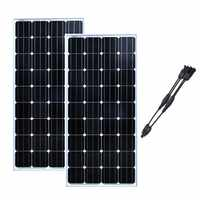 Solar Panel 12v 150w 2 PCs Solar Module 24v 300w Solar Home System Solar Batterie Ladegerät wohnmobil Caravan Auto RV Boot Yacht LM