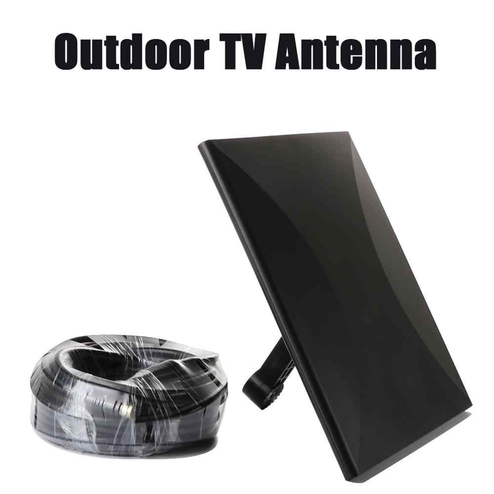 318A Outdoor TV Antenna Digital HD Indoor TV Antenna Free TV DVB-T2 For Russian 30~160 Miles Range Catch TV Signal Antenna DVB-T