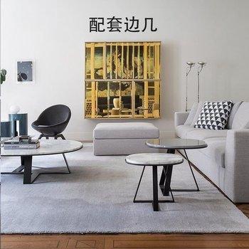 Nordic stolik kawowy do salonu marmurowy okrągły stół ze stali nierdzewnej kreatywny stolik do herbaty postmodernistyczny lekki luksusowy stolik na kawę tanie i dobre opinie sabasma Montaż Meble do domu Meble do salonu China 120X60-130X70-140X80-150X80CM Minimalistyczny nowoczesny Nowoczesne