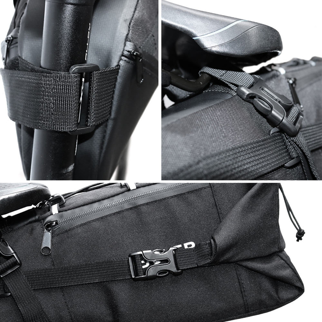 10L Waterproof Saddle Bag