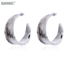 ФОТО elegance bohemia big earrings for women acetic acid stud earring jewelry 2018 new fashion exaggeration statement earring brinco