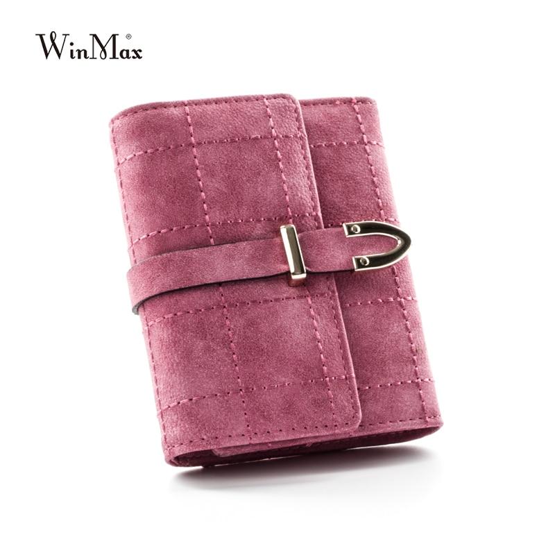 Winmax women's quality cartera leather clutch wallet women luxury brand dollar price money clip wallet women's purse for coins