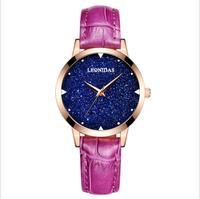 Leonidas Leather Women Watches Retro Style Design Fashion Women Watch Girl Watch