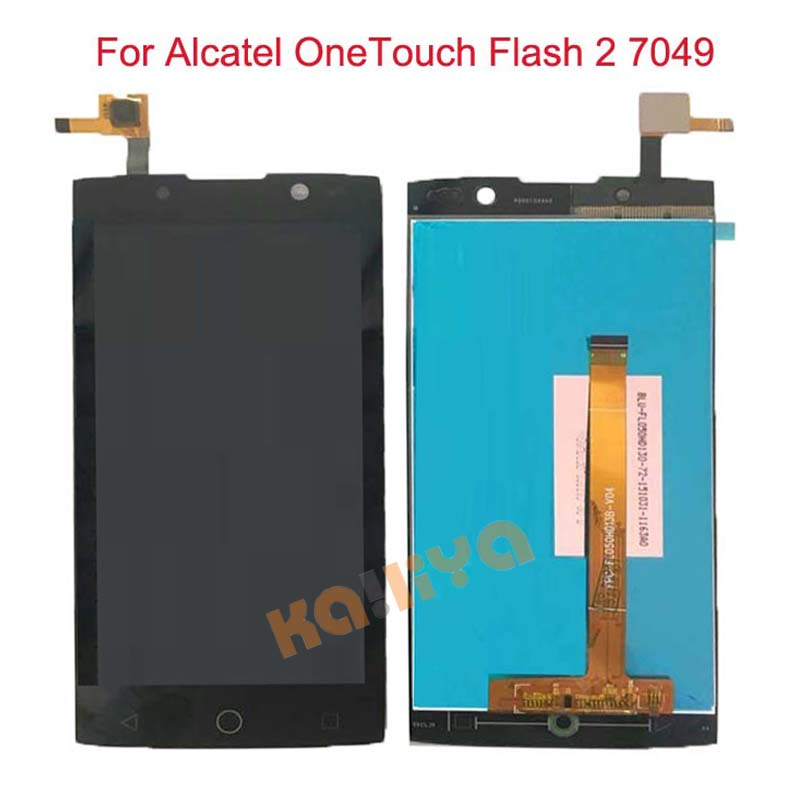 For Alcatel OneTouch Flash 2 7049D 7049 OT 7049D LCD