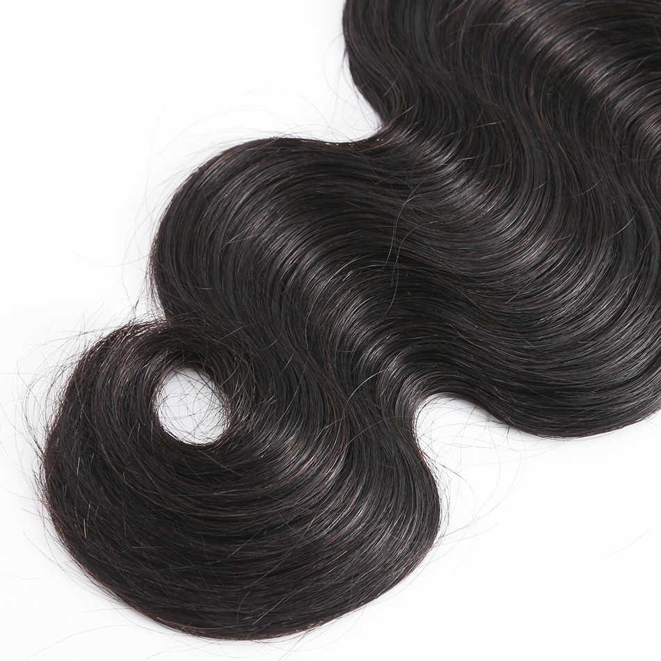 Связки волос бразильские 8А девственные волосы ткет волнистые 100% человеческие волосы 1 3 4 пучка необработанные волосы Вьющееся удлинение