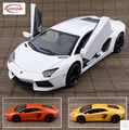 LP700-4 rastar 1:18 Original simulation car model 61300 Italy supercar Classic cars Scissor doors V12 Furious 7 Christmas gift