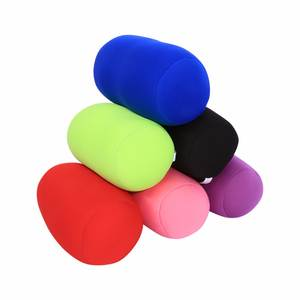 Pillows Back-Cushion Roll Microbead Travel Office Sleep Mini Home 5-Colors 35cm-X-20cm