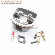 57 4mm 58 5mm 61mm 63mm NON EGR Cylinder Head Kit A7TC spark plug for China