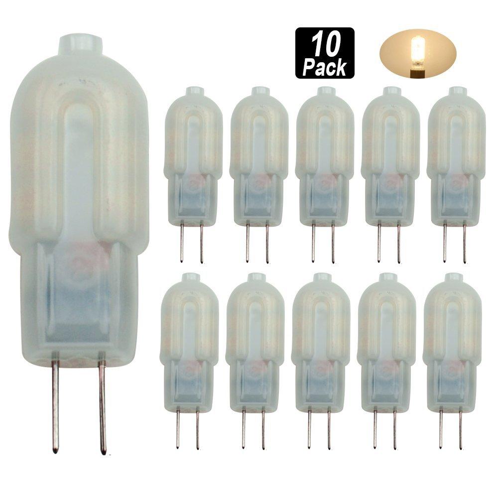 10 шт. G4 led 3 Вт 12 * 2835SMD 300-360 LM пятно огни т декоративные Кукуруза луковицы Би -pin Light AC220 V заменить галогенные лампы 360 градусов ...
