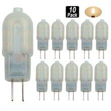 10pcs G4 led 3W 12*2835SMD 300-360 LM Spot Lights T Decorative Corn Bulbs Bi-pin Light AC220 V Replace Halogen Lamp 360 Degree