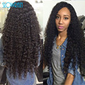 High Quality Virgin Brazilian Full Lace Kinky Curly Wigs Glueless Human Hair Kinky Curly Wigs With Baby Hair For Black Women