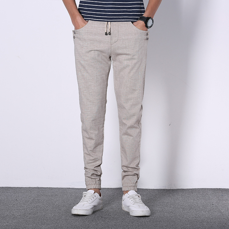Casual Linen Pants for Men Promotion-Shop for Promotional Casual ...
