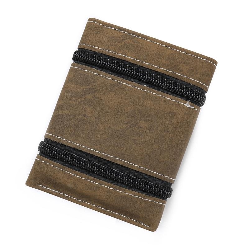 Модные кошельки с заклепками, винтажный Кошелек из искусственной кожи для мужчин, лаконичный качественный тонкий кошелек,, органайзер для денег и карт