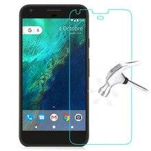 Voor google pixel xl gehard glas originele 9 h hoge kwaliteit beschermfolie explosieveilige screen protector voor google pixel xl