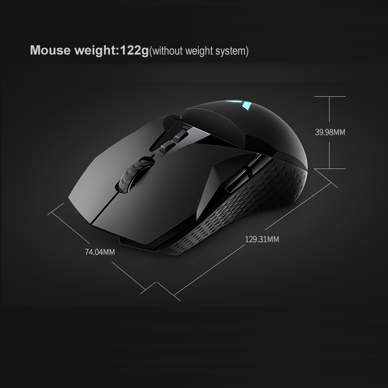 Rapoo VT950 Gaming Mouse 2 4G Wireless RGB OLED Display 11 customizable  buttons 16000DPI For PUBG LOL FPS Dota 2 Computer Gamer
