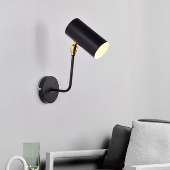 Postmodern Wall Lamp Creative Living Room Dining Room Bedside Lamp Personality Nordic Cafe Iron Wall Lamps