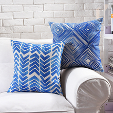 Blue Heaven Pillow Cover