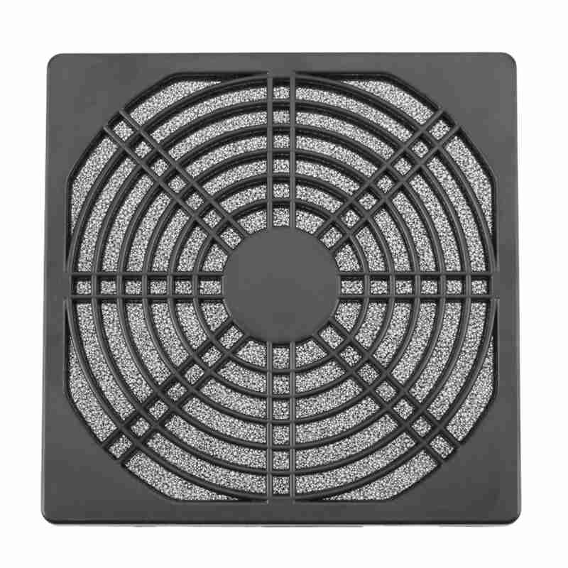 1Pcs Dustproof <font><b>120mm</b></font> Case <font><b>Fan</b></font> Dust Filter Guard Grill Protector Cover for PC Compute Cleaning <font><b>Fan</b></font> Cover Case image