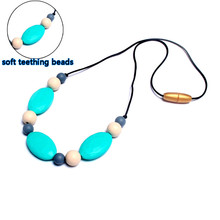 Food grade Silicone teething necklace