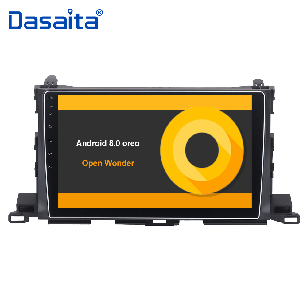 10 2 HD Digital Capacitive Touch Screen Android 8 0 car Stereo Multimedia for Toyota Highlander