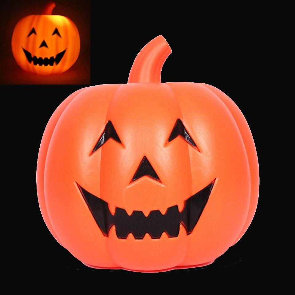 купить pumpkin lamp ghost cry creepy halloween lamp bar decoration lamp with horror effect helloween decoracion lamp KTV decoration led по цене 5760.04 рублей