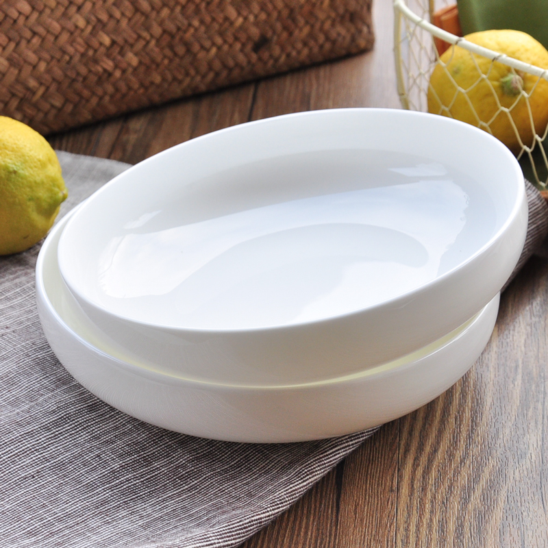 High Quality White Bone Porcelain Appetizer Dessert Salad Bread Butter Side Dinner Plate