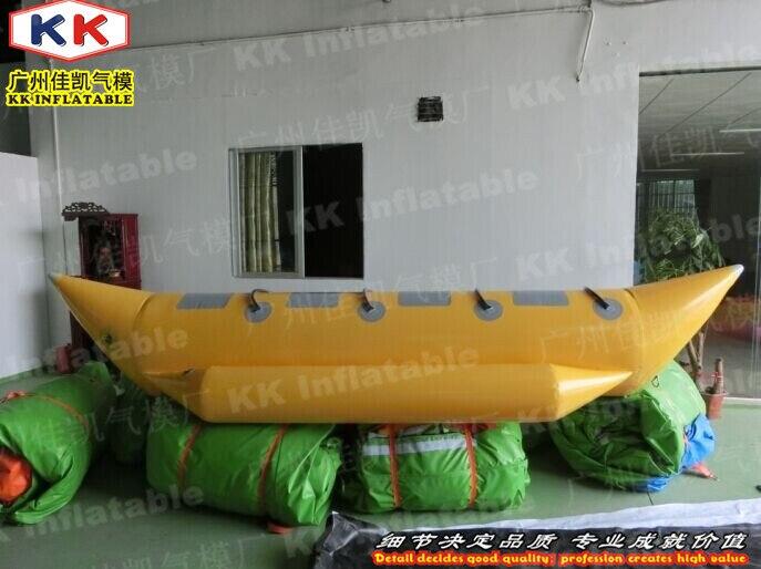 Дешевые надувная лодка банан для Оборудование для игр в воде ...