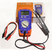 Digtital A6013L Capacitor mF uF Circuit Gauge Capacitance Meter Tester the same as XC6013L Capacitance multimeter