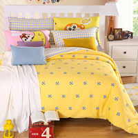 Football Bedding Print Bedding Set Twin Full Queen King Size Bedcover 100 Cotton Fabric Fast Shipping