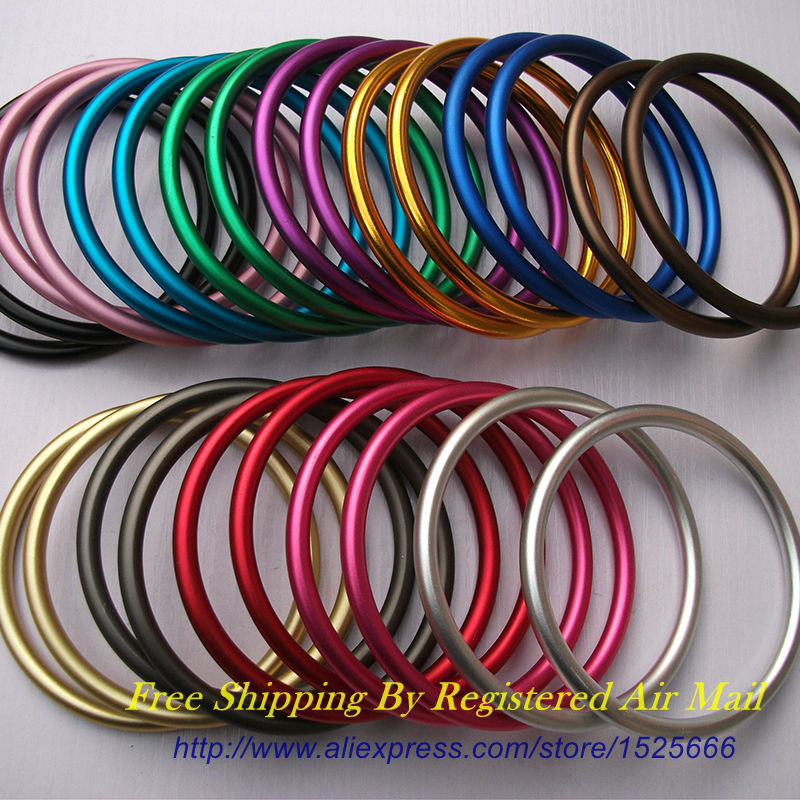 Free Shipping 1 pair 3 Large Size Aluminum Sling Rings Making Your Slings to Carry Baby
