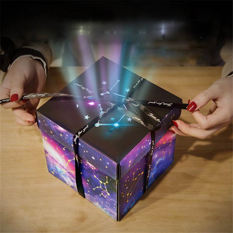 Individual Album Gift Box Creative Diy Photo Gift Box Explosion Gift