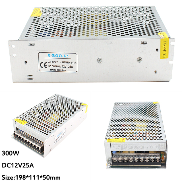 Lighting Transformers DC 5V 12V 24V 36V Power Supply Adapter 5 12 24 36 V 1A 2A 3A 5A 6A 8A 10A 15A 20A LED Driver LED Strip Lab 1