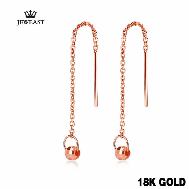 Cercei cu picătură de aur 18k la modă rafinat Frumos elegantă clasică fată dorință uzură de cadouri 2017 femei noi petrecere bună bine
