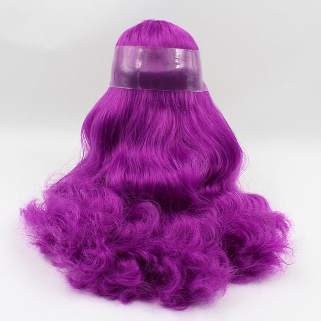 Peruca de cabelo Neo Blythe Doll Scalp Dome